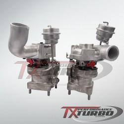 Hybrid Turbo Audi RS4 2.7T 500KM STAGE1